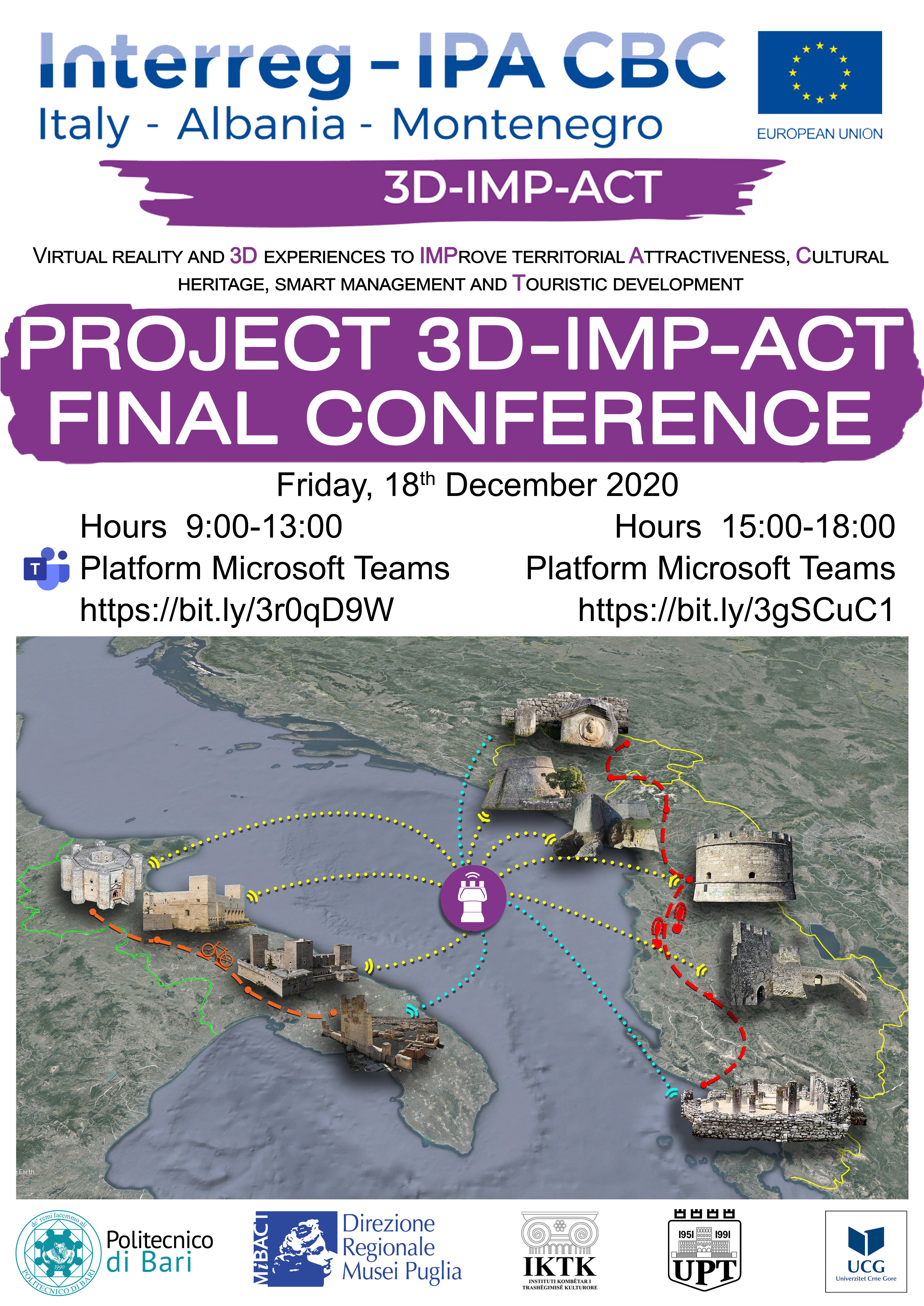 Final Conference and workshops poster