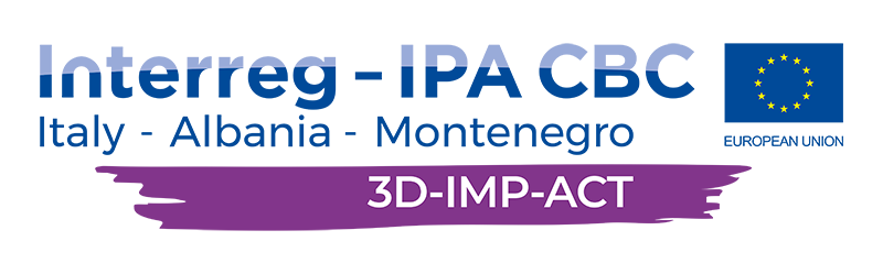 3D-IMP-ACT footer logo